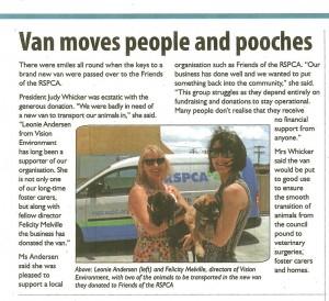 Gladstone-News-RSPCA-van